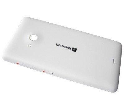 Akkukansi / Takakansi Microsoft Lumia 535/ Lumia 535 Dual SIM valkoinen