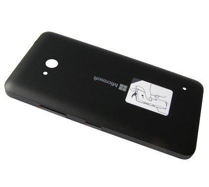 Akkukansi / Takakansi Microsoft Lumia 640/ Lumia 640 Dual SIM musta