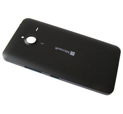 Akkukansi / Takakansi Microsoft Lumia 640 XL musta
