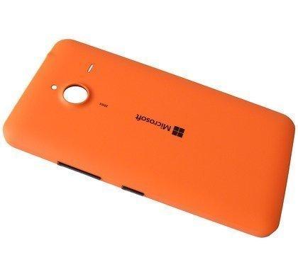 Akkukansi / Takakansi Microsoft Lumia 640 XL orange