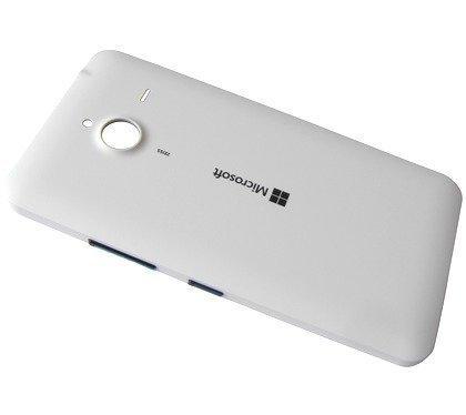 Akkukansi / Takakansi Microsoft Lumia 640 XL valkoinen