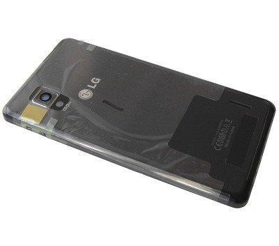 Akkukansi / Takakansi + NFC Antenni LG E975 Optimus G musta