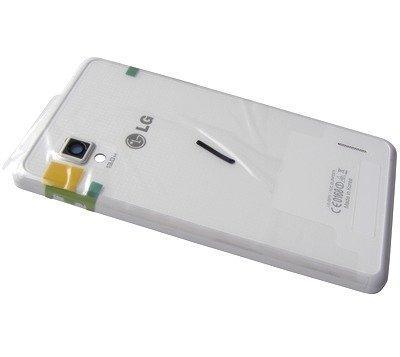 Akkukansi / Takakansi + NFC Antenni LG E975 Optimus G valkoinen