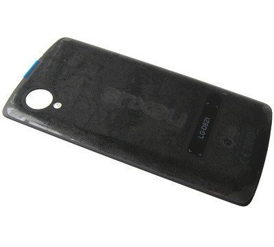 Akkukansi / Takakansi + NFC LG D821 Nexus 5 musta