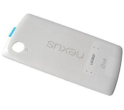 Akkukansi / Takakansi + NFC LG D821 Nexus 5 valkoinen