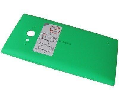Akkukansi / Takakansi + NFC Nokia Lumia 735 green