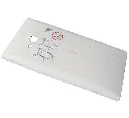Akkukansi / Takakansi + NFC Nokia Lumia 735 valkoinen