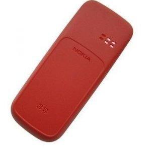 Akkukansi / Takakansi Nokia 100/101 coral red