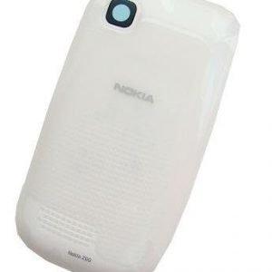 Akkukansi / Takakansi Nokia 200 valkoinen