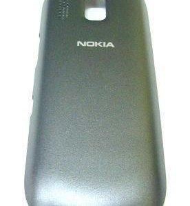 Akkukansi / Takakansi Nokia 202 Asha dark grey