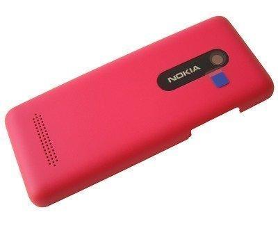Akkukansi / Takakansi Nokia 206 Asha Dual SIM magenta