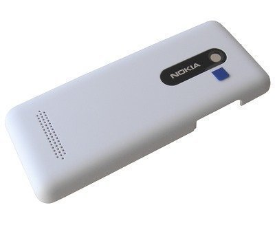 Akkukansi / Takakansi Nokia 206 Asha Dual SIM valkoinen