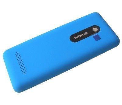 Akkukansi / Takakansi Nokia 206 Asha cyan