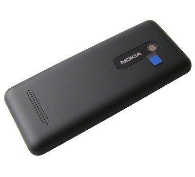 Akkukansi / Takakansi Nokia 206 Asha musta