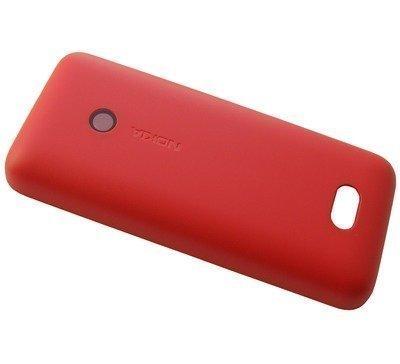 Akkukansi / Takakansi Nokia 208 red