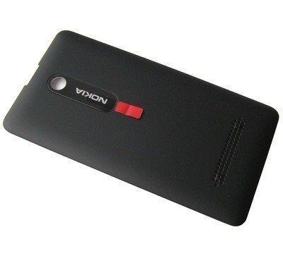 Akkukansi / Takakansi Nokia 210 Asha/ 210 Asha Dual SIM musta
