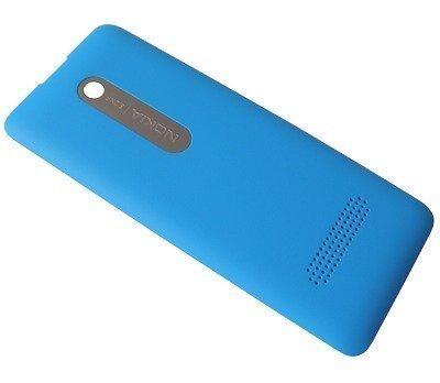 Akkukansi / Takakansi Nokia 301/ 301 Dual SIM cyan