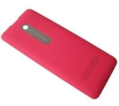 Akkukansi / Takakansi Nokia 301/ 301 Dual SIM fuchsia