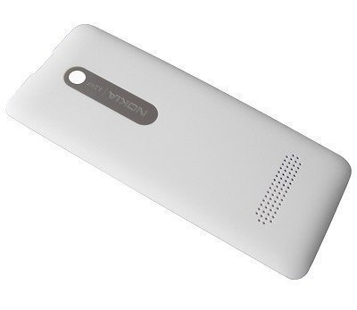 Akkukansi / Takakansi Nokia 301/ 301 Dual SIM valkoinen