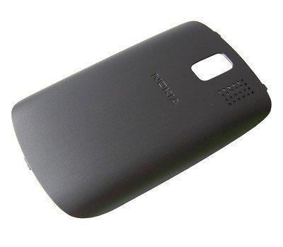 Akkukansi / Takakansi Nokia 302 Asha dark grey
