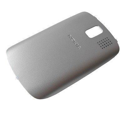 Akkukansi / Takakansi Nokia 302 Asha silver