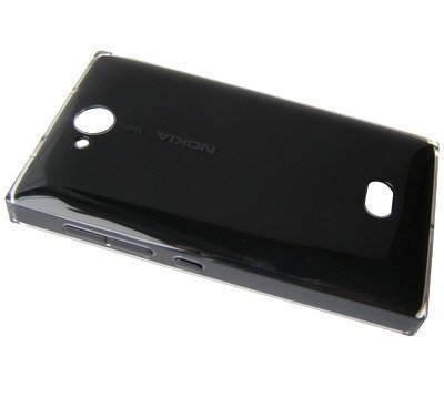 Akkukansi / Takakansi Nokia 503 Asha musta