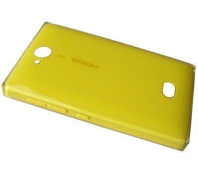 Akkukansi / Takakansi Nokia 503 Asha yellow