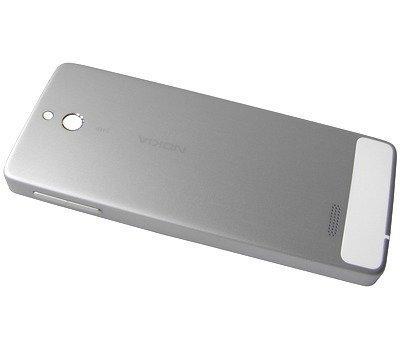 Akkukansi / Takakansi Nokia 515/ 515 Dual SIM silver