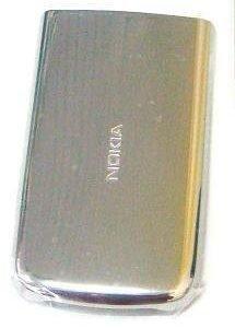 Akkukansi / Takakansi Nokia 6700c silver