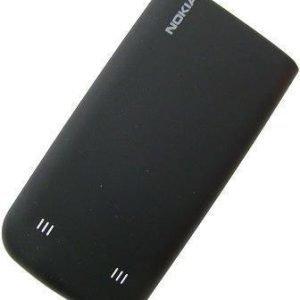 Akkukansi / Takakansi Nokia 6730c musta