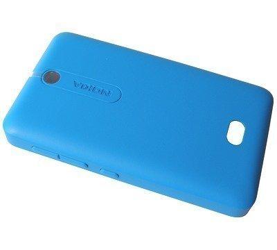 Akkukansi / Takakansi Nokia Asha 501/ Asha 501 Dual SIM cyan