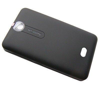 Akkukansi / Takakansi Nokia Asha 501/ Asha 501 Dual SIM musta