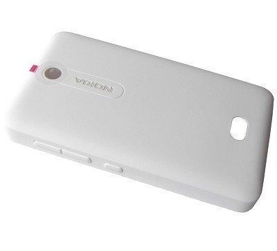 Akkukansi / Takakansi Nokia Asha 501/ Asha 501 Dual SIM valkoinen