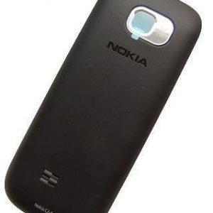 Akkukansi / Takakansi Nokia C2-01 musta
