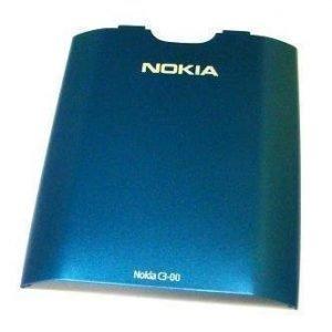 Akkukansi / Takakansi Nokia C3-00 blue