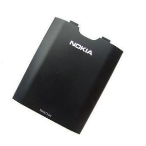 Akkukansi / Takakansi Nokia C3-00 musta