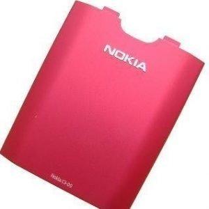Akkukansi / Takakansi Nokia C3-00 pink