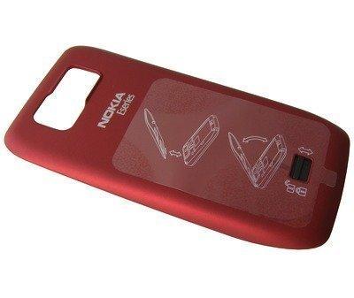 Akkukansi / Takakansi Nokia E63 red