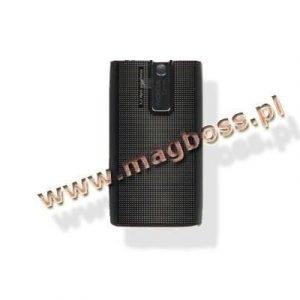 Akkukansi / Takakansi Nokia E66 grey steel