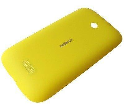 Akkukansi / Takakansi Nokia Lumia 510 yellow