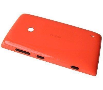 Akkukansi / Takakansi Nokia Lumia 520/ Lumia 525 orange
