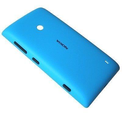 Akkukansi / Takakansi Nokia Lumia 520 cyan
