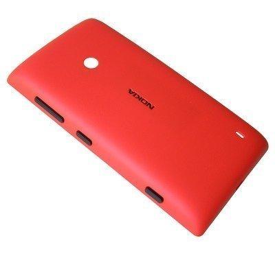 Akkukansi / Takakansi Nokia Lumia 520 red