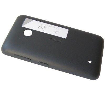 Akkukansi / Takakansi Nokia Lumia 530/ Lumia 530 Dual SIM dark grey