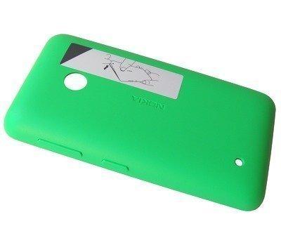 Akkukansi / Takakansi Nokia Lumia 530/ Lumia 530 Dual SIM green