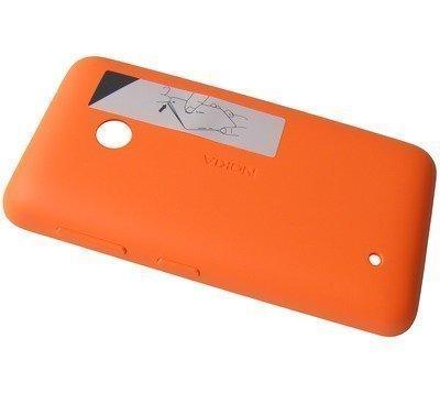 Akkukansi / Takakansi Nokia Lumia 530/ Lumia 530 Dual SIM orange