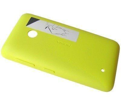 Akkukansi / Takakansi Nokia Lumia 530/ Lumia 530 Dual SIM yellow