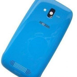 Akkukansi / Takakansi Nokia Lumia 610 cyan
