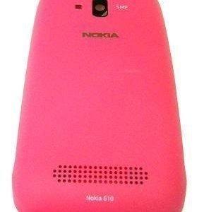 Akkukansi / Takakansi Nokia Lumia 610 magenta