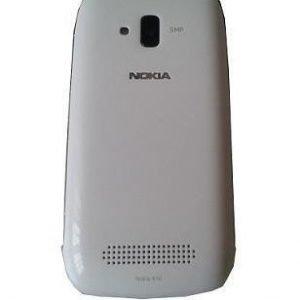 Akkukansi / Takakansi Nokia Lumia 610 valkoinen